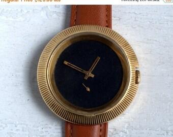 "ON SALE Soviet watch""Pobeda"", Mens watch BIG , Russian watch ,minimalist watch, watch mens ,minimal watch, Mechanical watch"