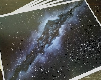 Abstract Galaxy Prints 8.5x11in