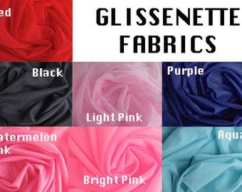 Glissenette Fabric Available in 7 Colors