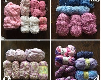ALL 16 blanket patterns plus FREE YARN! please send me a convo request with number of yarn pack (1-4)