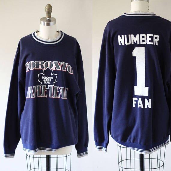 1980s Toronto Mapleleafs sweatshirt // vintage hockey sweatshirt // vintage NHL sweatshirt