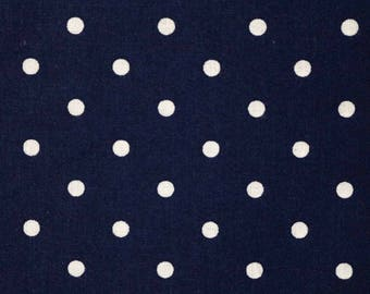 Pre-Order, Navy Polka Dots, Cloth Diaper Wetbag, Diaper Pail Liner, Diaper Bag, Day Care Size, Bag with Handle