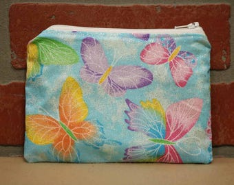 One Snack Sack, Butterflies, Reusable Lunch Bags, Waste-Free Lunch, Machine Washable, Back to School, School Lunch, item #SS56