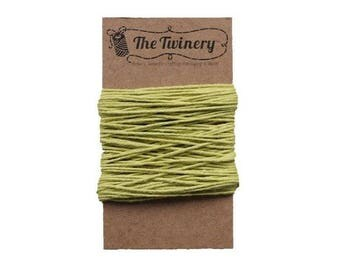 15 Yards of Solid Green Honeydew Chartreuse Baker's Twine - String - Embellishment Packaging Craft Party Supplies