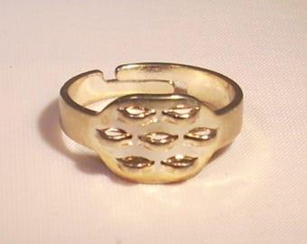 7 rings adjustable metal rings