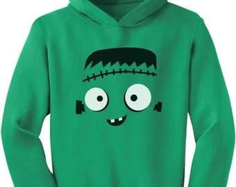 Monster Face Halloween Costume Toddler Hoodie
