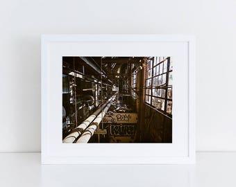 Rusty Glam - Urban Exploration - Fine Art Photography Print