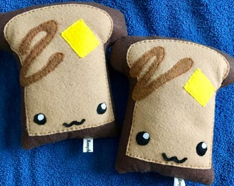 Cute French Toast Bread Food Breakfast Plushie / Plush / Kawaii Plush Toy