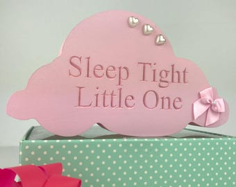 Nursery Cloud Shelfie/hand-painted gift | nursery decor/baby gift