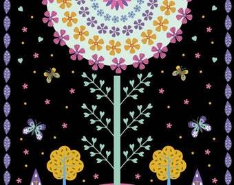 Daydream Panel 8363 P 099 Black by Blank Quilting