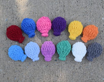 Water Balloons, Crochet Water Balloons, Reusable Water Balloons, Eco-Friendly Water Balloons, Balloon Fight