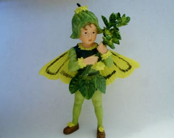Box Tree Fairy - Flower Fairy - Fairy Garden - Terrarium - Miniature Gardening - Accessories - Cicely Mary Barker Fairy