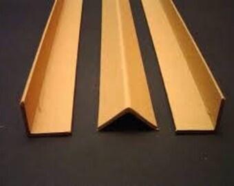 Metal Corner Protectors   Furniture Protectors   Table Leg   Custom Lengths    Steel   Aluminum