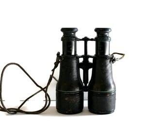 Vintage Binoculars Field Glasses Colmont Made in Paris France