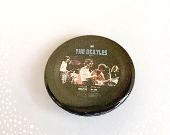 Vinyl record - The Beatles - Hey Jude Pinback Button Badge 1.25 inch Flair
