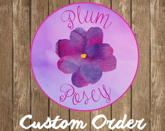 Personalized Order for Claudia