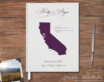 California guestbook  Etsy