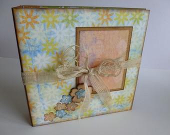 Scrapbook album / photo album / memory album /  journal / Die cuts
