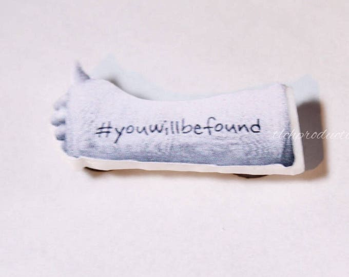 Dear Evan Hansen Broadway Musical Cast Shaped #youwillbefound Magnet