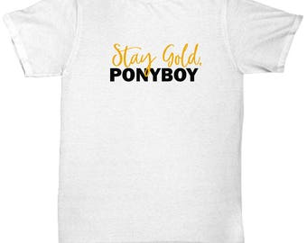 The Outsiders Stay Gold Ponyboy Shirt Gift Book Movie Soda Pop Shirts