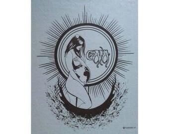 Gaia Mother Earth T-Shirt BL