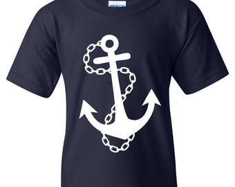 Nautical Anchor YOUTH T Shirt