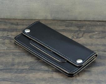 CobblersStitch Trucker Wallet Horween Chromexcel leather.