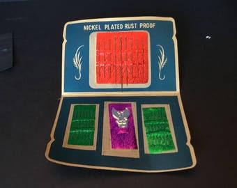 Vintage needle packet made in Japan