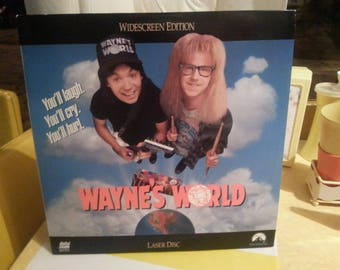 1992 Wayne's World Laserdisc (Paramount) Wide Screen Edition