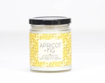70's SWIRL • APRICOT + FIG Candle
