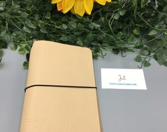 CJ15 - Au Natural - ClassicJot Traveler's Notebook/Planner Cover/Journal