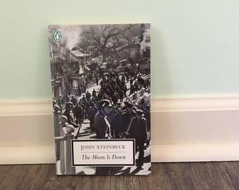 "John Steinbeck ""The Moon is Down"" paperback novel"