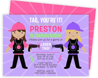 Laser Tag Invitation, Laser Tag Party, Laser Tag Birthday, Laser Tag Invites, Laser Tag, Laser Tag Invite, Laser Tag Printable | 23