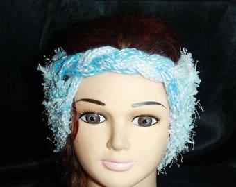 wool, very large with braided headband