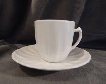Vintage Demitasse / Espresso Cup and Saucer