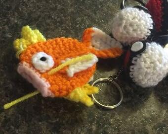 Crochet pokemon inspired magikarp