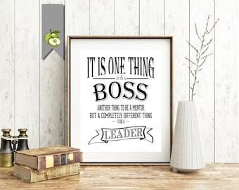 Boss day gift   Etsy