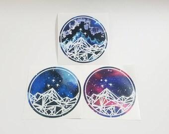 Patterned Night Court Vinyl Decals <DS018>