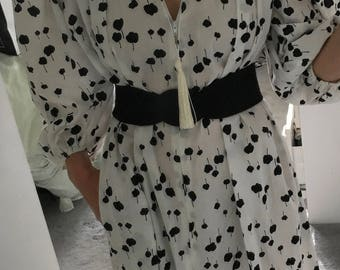60s David Brown for Wilshire Bullocks Loungewear/Robe/Dress