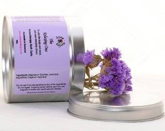 The Relaxing One Essential Oil Bath salts | Natural Mineral Salts | Lavender Epsom Salt Bath