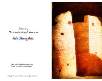 Fine Art Photography, Anasazi, Art, Fine Art, Greeting Cards, Note Cards, Cards, FREE Shipping