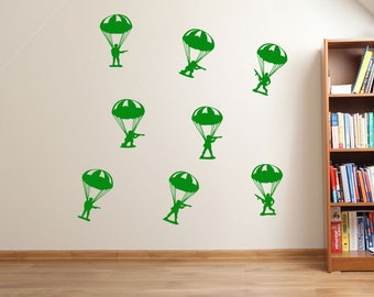 Paratrooper Wall Decals A48