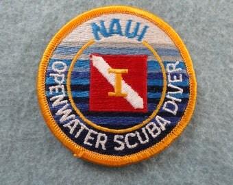 NAUI Open Water Scuba Diver     Patch
