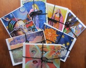 Cards Set of 4 Greeting C...