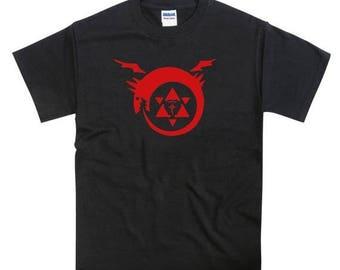 ON SALE FMA Full Metal Alchemist Homunculus Tribute Tshirt