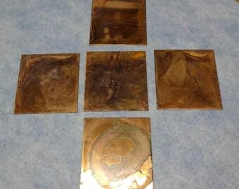 24g Copper Squares