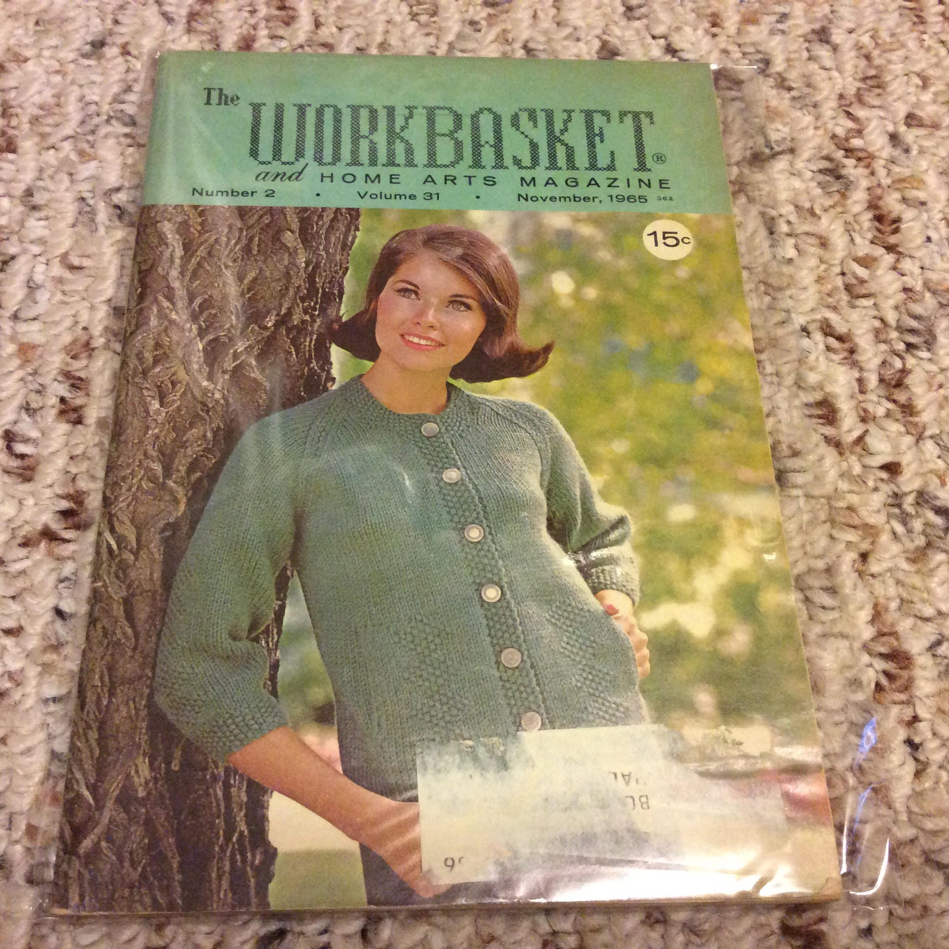 The Workbasket Magazine, Volume 31, Lot of 3, 1965 and 1966, Issues ...