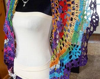 Crochet Rio Bohemian Vest Ships Today!