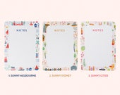 Sunny Cities Tear-Off Notepads - A5