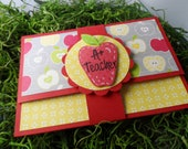 Many Thanks, Teacher Appreciation Gift Card Holder, Teacher Gift, End of Year Teacher Gift, Gift Card Holder for Teacher